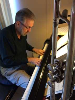 Carl Saunders composing some more