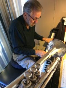 Carl Saunders composing