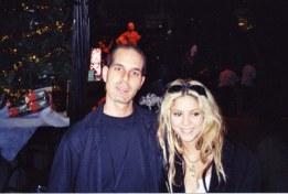 Chris Tedesco w/ Shakira
